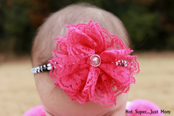 Vintage Lace Head band The Hairbow Company