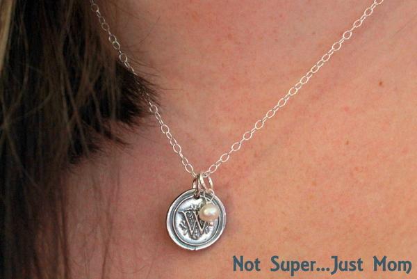 Lauren Nicole Gifts Victorian Wax Seal Necklace