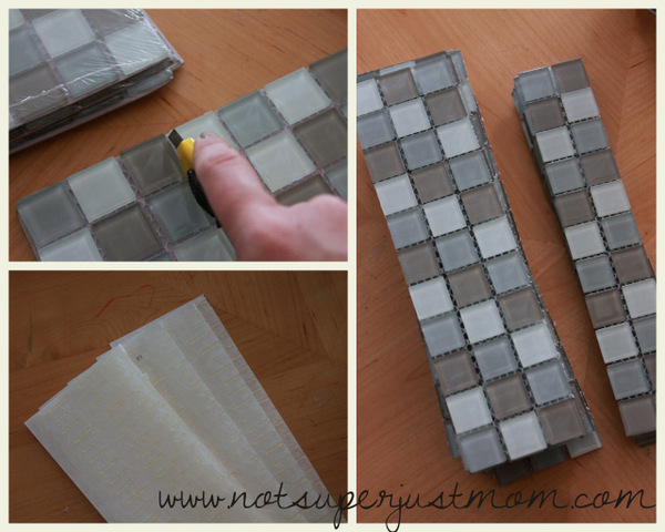 how to mosaic tile a mirror diy from not super just mom