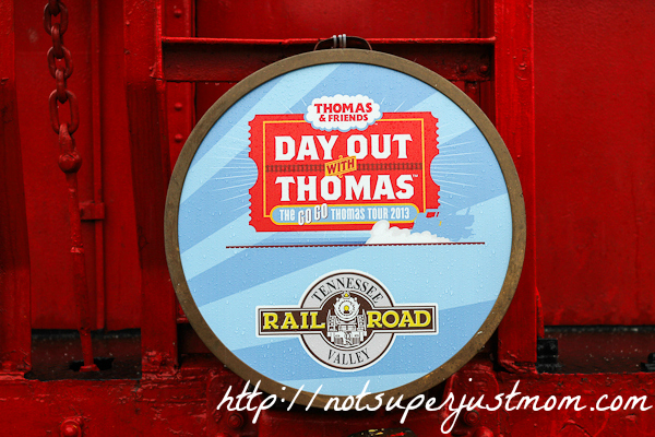 Day Out With Thomas, Not Super Just Mom