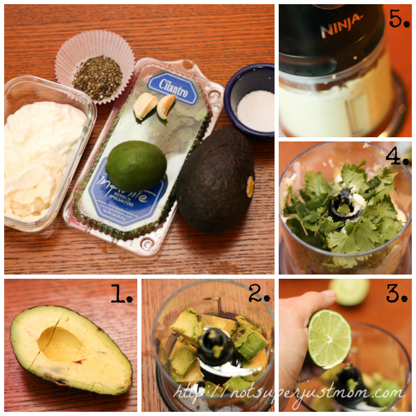 Grilled Fish Tacos with Avocado-Cilantro Dressing, Not Super Just Mom