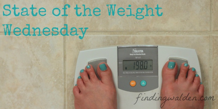 State of the Weight Wednesday, Finding Walden