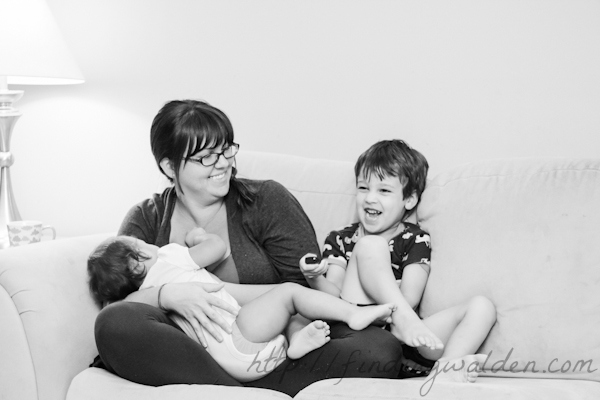 World Breastfeeding Week, Finding Walden