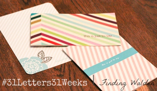pear tree stationery, finding walden