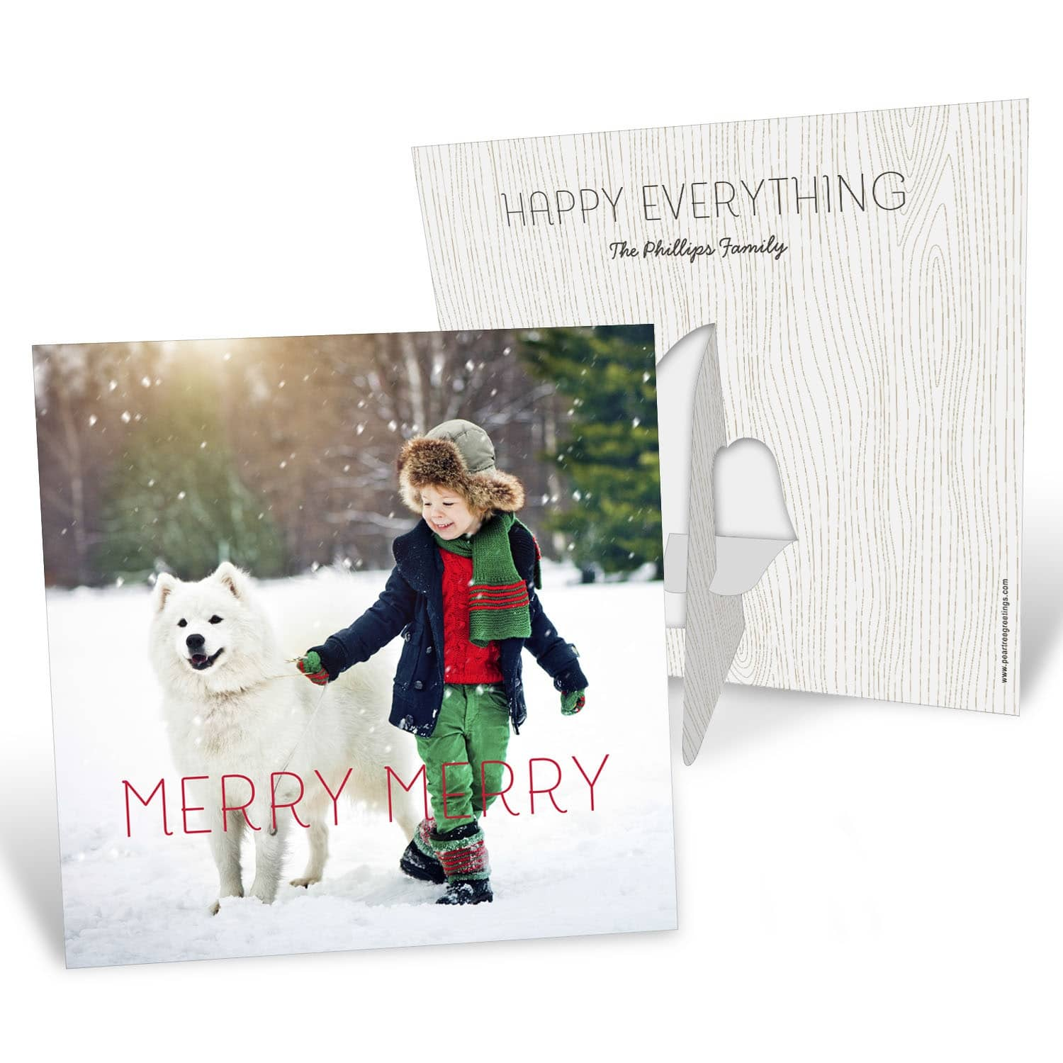 Holiday stationery from pear tree greetings caffeine and cabernet pear tree greetings kristyandbryce Gallery