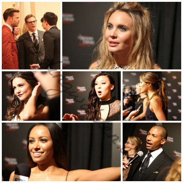 The Vampire Diaries Red Carpet Collage