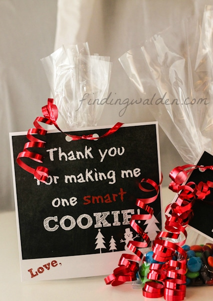 FREE Holiday Gift Tag Printables for Cookies and Treats