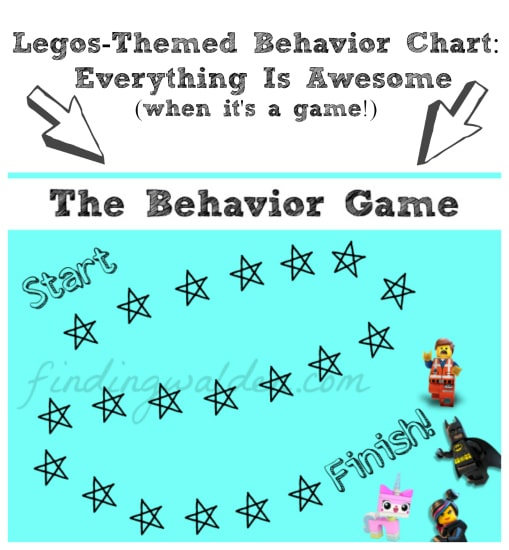 Legos Themed Behavior Chart