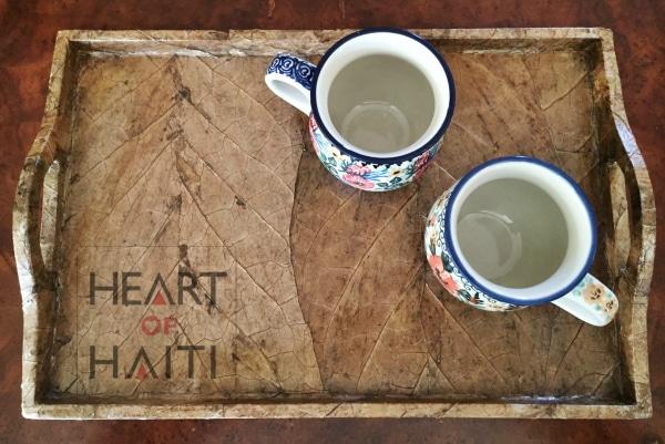 Tobacco Leaf Tray - Heart of Haiti