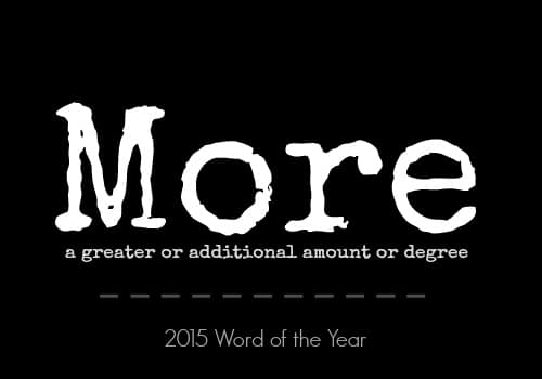 2015 Word of the Year